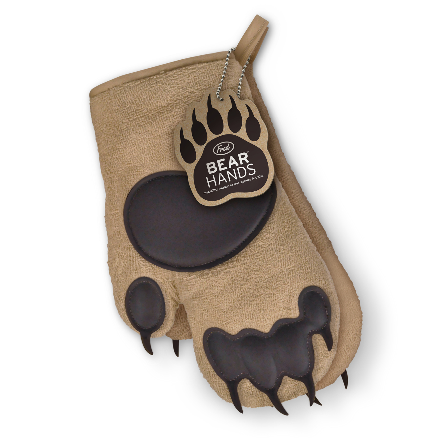 Fred Bear Hands Ovenhandschoenen