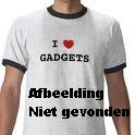 Invotis Big Hour Wheel Klok - Zwart